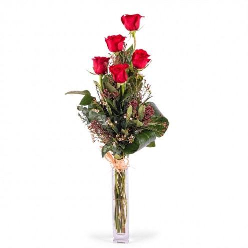 18€ 5 rosas