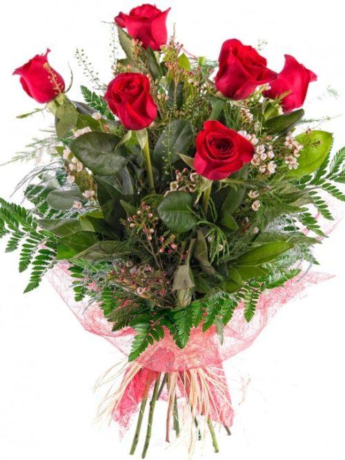 18€ 6 rosas