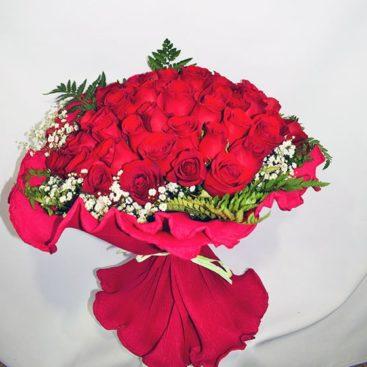 Ramos de rosas a medida